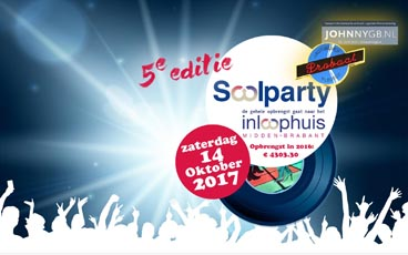 zaterdag 14 oktober Soolparty 5e editie